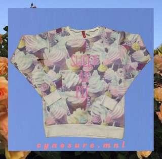 H&M sweet as pie sweater