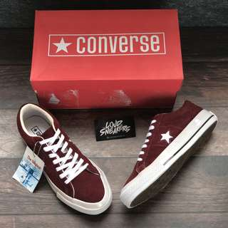 Converse One Star - Maroon