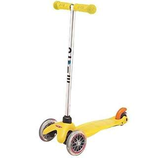 Clearance! Brand new Micro Mini Scooter Yellow