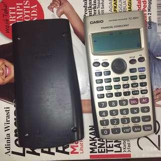 Kalkulator Finance Casio FC-100V