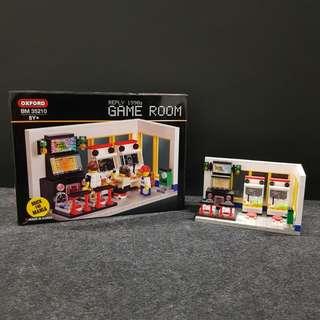 Oxford: 1990s Game Room Building Blocks [BIB]