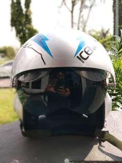 Helmet Top Gun 'Iceman'