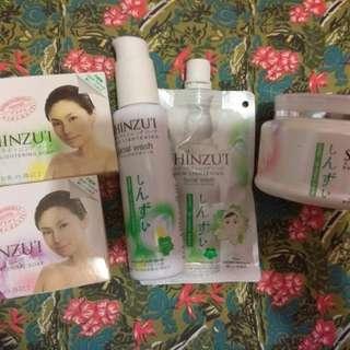 日本福袋 美白磨砂🔹美白皂🔹洗面乳收毛孔