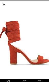 Zalora Tie Up Heels