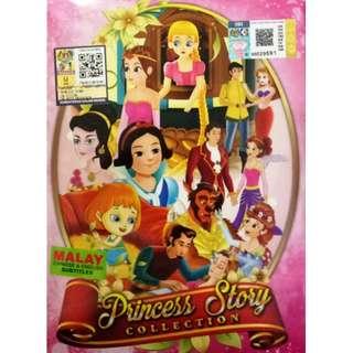 Princess Story Collection Anime DVD (Malay sub)