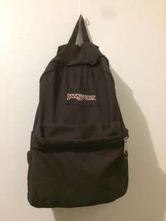 Jansport black bag