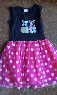 High quality kids tutu dress
