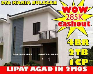 Rent to own in Bulacan 4Br Lipat Agad