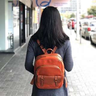 Leather Backpack Bag for Women