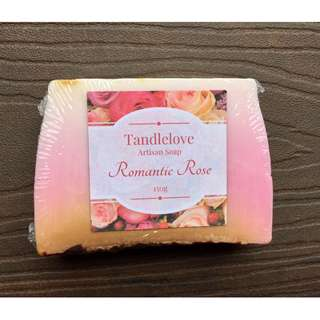 Romantic Rose Artisan Soap (150g)