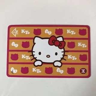 全新地鐵MTR 限量版Hello Kitty 港鐵紀念車票及紀念品