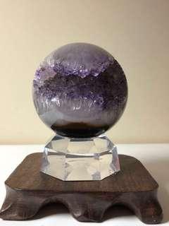 全拋光高級紫水晶開口笑