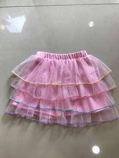 🚚 粉紅蛋糕紗裙