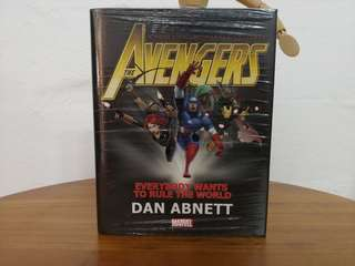 Avengers: Everybody Wants to Rule the World Prose Novel by Dan Abnett