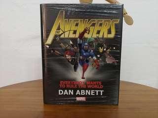 Avengers: Everybody Wants to Rule the World Prose Novel by Dan Abnett