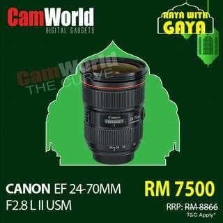 CANON 24-70MM L II USM