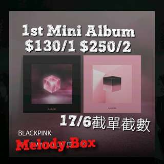 💕[預購] Blackpink 1st mini album Square Up 💋.