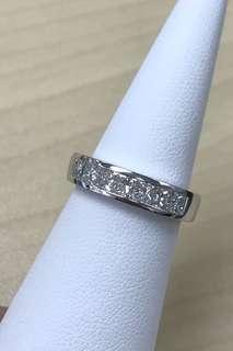 18K白鑽石戒指💍😍😍