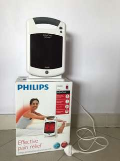 Philips InfraCare Effective Pain Relief Infrared Lamp