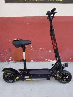 Woop+ Electric Scooter