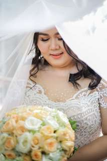 Plus size wedding gown ( preloved)