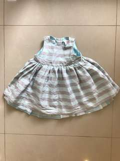 🚚 babyGap 三層絲質禮服裙