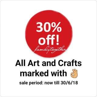 Art and craft sale