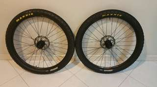 "ALEXRIMS Ace18 with MAXXIS Ardent 26""x2.25 Wheelset"