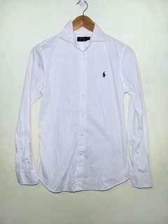 Ralph Lauren white Polo longsleeve