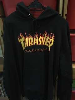Rare Black Thrasher Hoodie