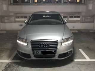 Audi A6 For Rental (Turbo Engine) promotion!