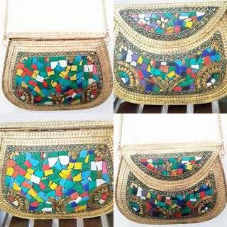 Mosaic Bag Delhi Bag Sling Bag Clutch