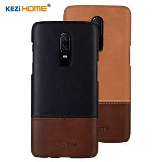 One plus 6 leather casing