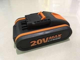 WROX 20v鋰電池