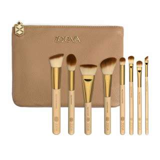 100% Genuine ZOEVA Bamboo Luxury Brush Set Vol. 2