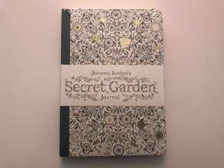 (NEW) Johanna Basford's Secret Garden Journal