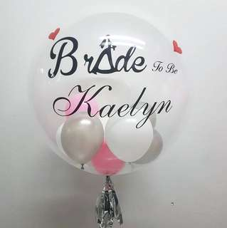 Bride to be Customised Balloon