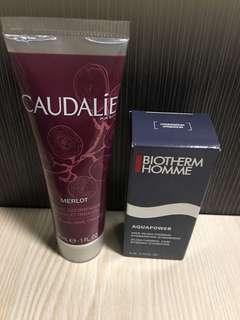 New Caudalie hand and nail cream (plus free Biotherm gift)