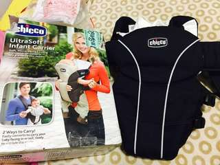 (Repriced 1000) Chicco carrier (complete with box receipt and manual)
