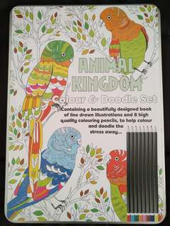 Colour & Doodle Coloring Book