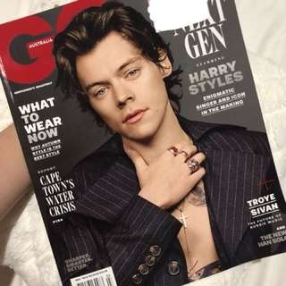 Harry Styles GQ Magazine May 2018 Issue