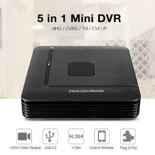 4 channel DVR/NVR/XVR CCTV Digital Video Recorder+Network Video Recorder - CCTV Package - 8/16 Channel DVR/NVR - 4ch DVR/NVR/XVR - 8ch DVR/NVR/XVR - 16ch DVR/NVR/XVR - Support:AHD/CVI/TVI/CVBS ANALOG/IP/960H/720P/960P/1080P Camera (7-STAR*)