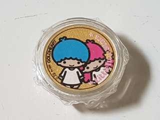 999K Gold Little Twin Star Coin