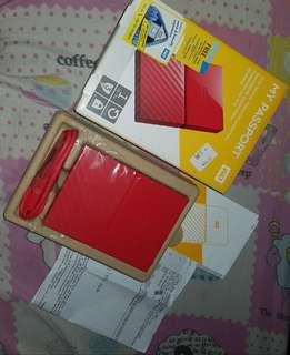WD My Passport Portable External Hard Drive