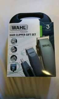 Wahl Hair Cutting Clipper & Trimmer W Bonus Cordless Trimmer & Ear Nose Trimmer Brand New Sealed With Free Lubricator