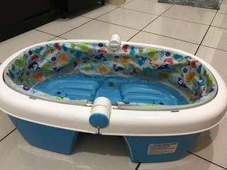 Deluxe summer baby bath