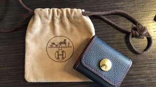$1080{Friend-D series 系列} [💯%Authentic & New 正品全新] HERMES Post-it Note case black&Red leather cover / 愛馬仕Post-It 告示貼黑紅色皮套