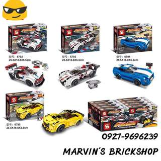 For Sale Fast Race Car Building Blocks Toys