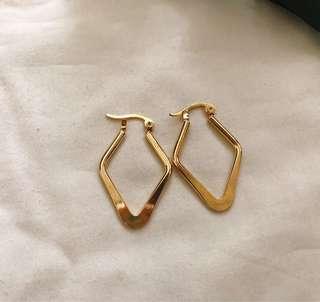 Sandra hoop earrings