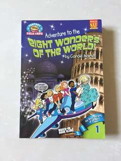 Adventure to the eight wonders of the worlds